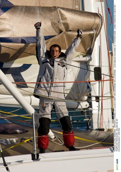 ARMEL LE CLEAC'H World Champion  (Photo By Brit Air)