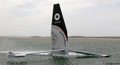 Macquarie Speed Sailing Team (Photo By Steb Fisher)