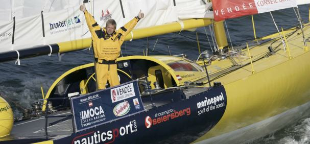 Norbert Sedlacek Takes Eleventh In Vendee Globe (Photo By Benoit Stichelbaut / Algimouss)