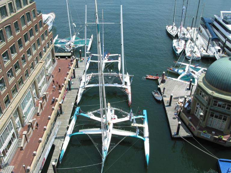 Transat Finish 2004 Boston