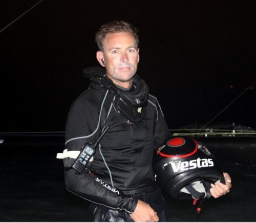Paul Larsen (Photo Courtesy of Sailrocket.com)