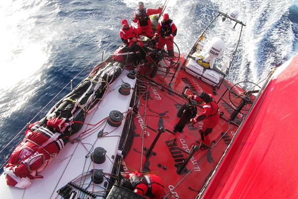 Puma Beck From Above (Photo By Rick Deppe / PUMA Ocean Racing / Volvo Ocean Race