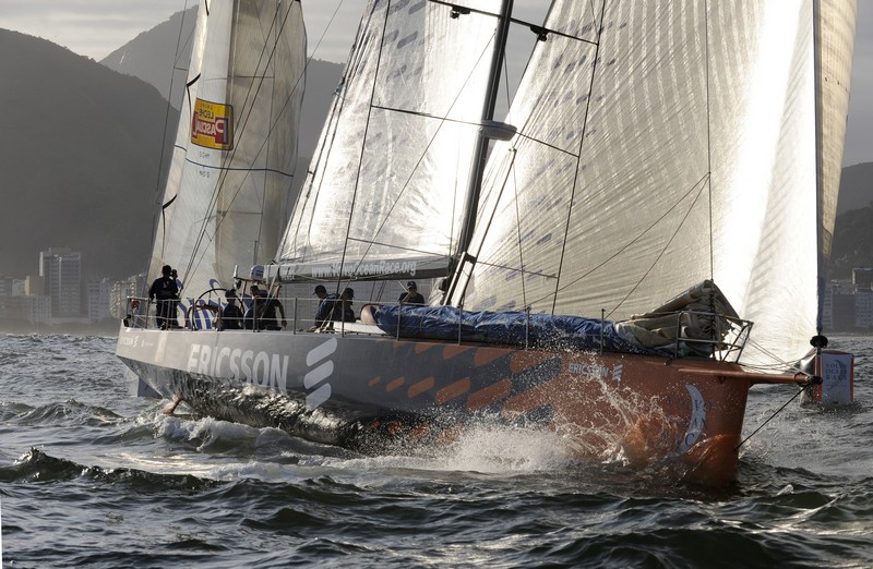 Ericsson 4 At Leg 6 Start (Photo By Rick Tomlinson / Volvo Ocean Race)