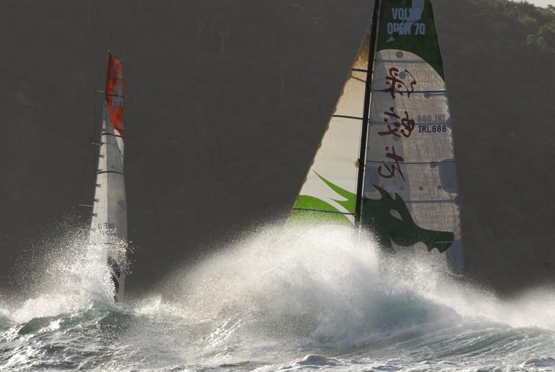 Green Dragon Leg 6 Start (Photo By Rick Tomlinson / Volvo Ocean Race)