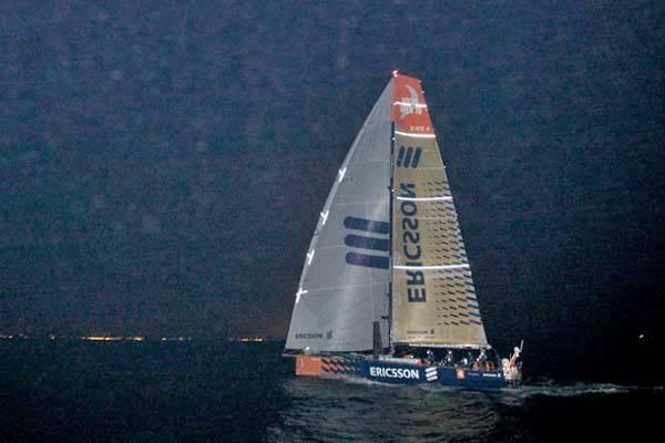 Ericsson 4 at Leg 7 Finish