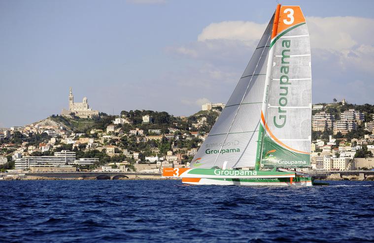 Groupama 3 (Photo by Claude Almodovar)