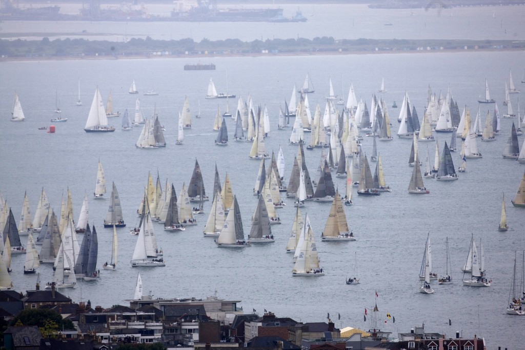 Around The Island Race At Cowes (Photo by Th Martinez / Sea&Co /onEdition)