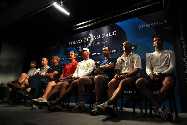 Skippers Before Start Of Last Leg ( Photo by Dave Kneale / Volvo Ocean Race)