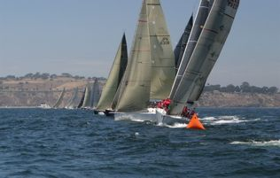 Division 3,4 and 5 Start Line July 2nd (Photo Courtesy of Transpac 2009)