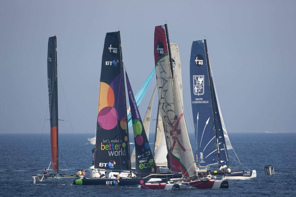 Extreme 40's Race In iShares Cup In Hyeres, France (Photo by Lloyd Images / Oman Sail)