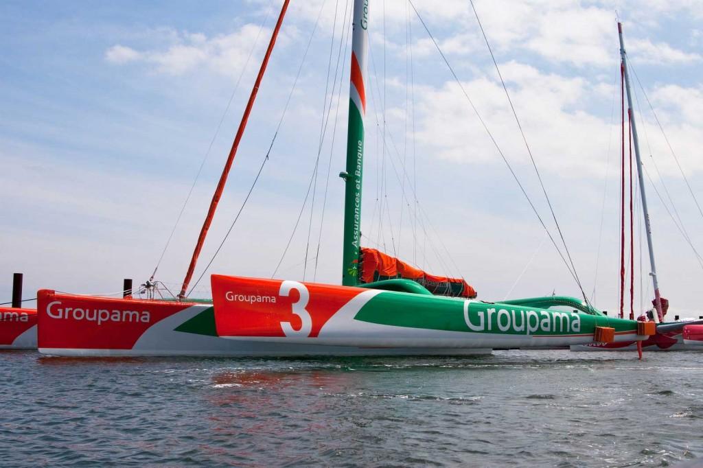 Groupama 3 (Photo by George Bekris)