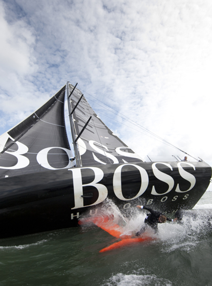 Hugo Boss Keel  (Photo by Lloyd Images)