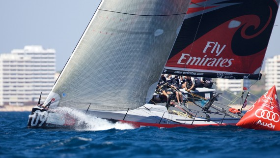 Emirates Team New Zealand ( Photo by Ian Roman/Audi MedCup)