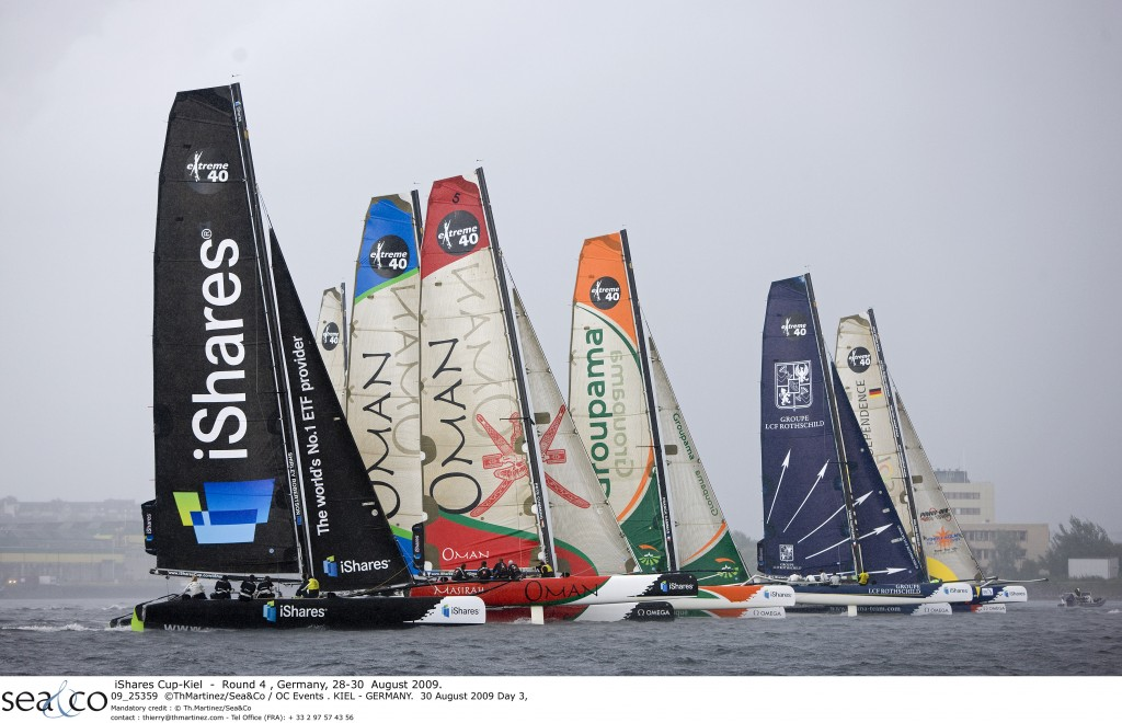 iShares Cup Fleet In Kiel, Germany (Photo by Th Martinez/Sea&Co / OC Events)