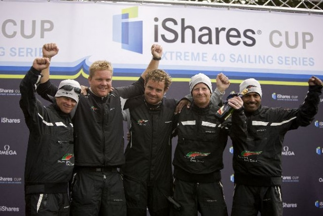 Pete Cummings and Masirah Team (Photo by Th Martinez/Sea&Co/OCEvents)