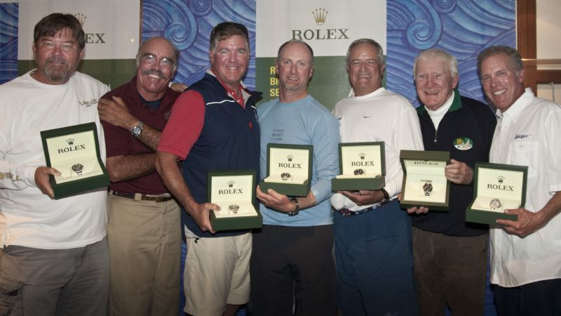 The St. Francis Yacht Club awarded its six Perpetual Trophies this evening ...