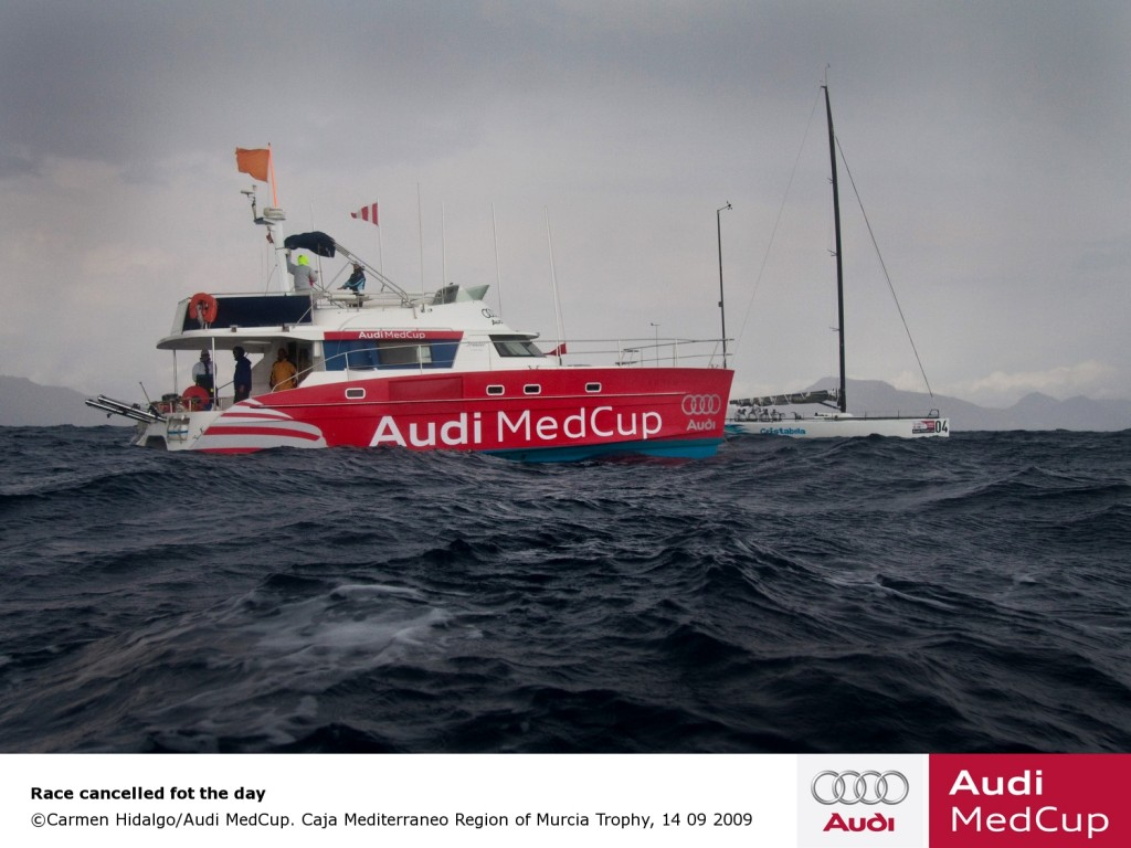 Audi Med Cup During Weather Delay (Photo by )