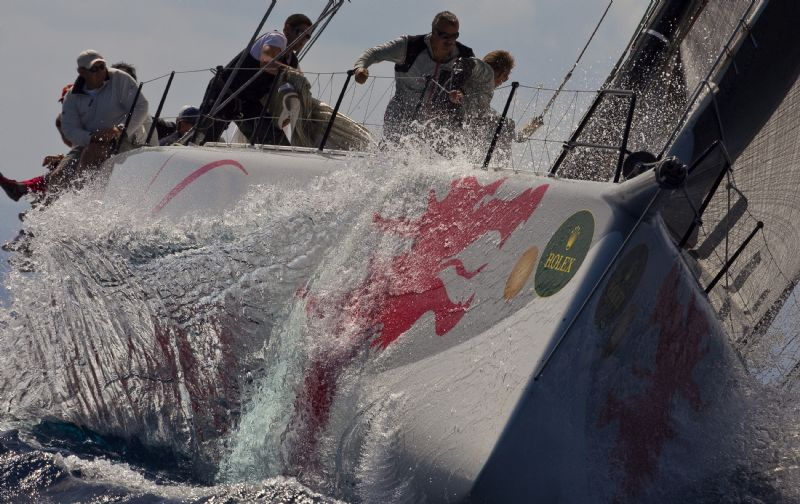 Beau Geste Upwind Day Two (Photo by Carlo Borlenghi)