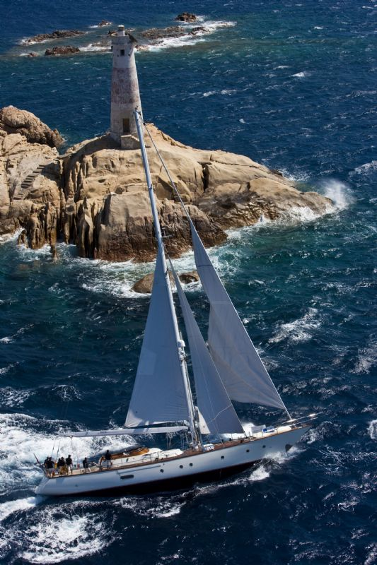 Electra In The First Day Of Perini Navi Cup (Photo by Rolex / Carlo Borlingi)