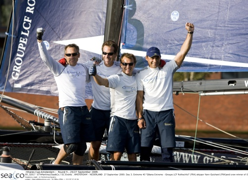 Gitana Extreme Crew (Photo by Th.Martinez/Sea&Co/OCEvents)