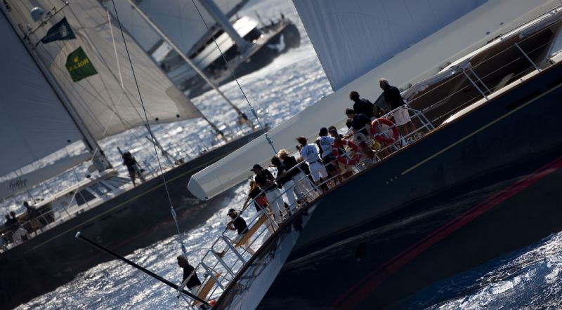 Heritage In First Day Of Perini Navi Cup (Photo by Rolex / Carlo Borlenghi)