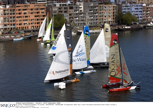 IShares Fleet In Amsterdam (Photo by Th.Martinez/Sea&Co/OCEvents)