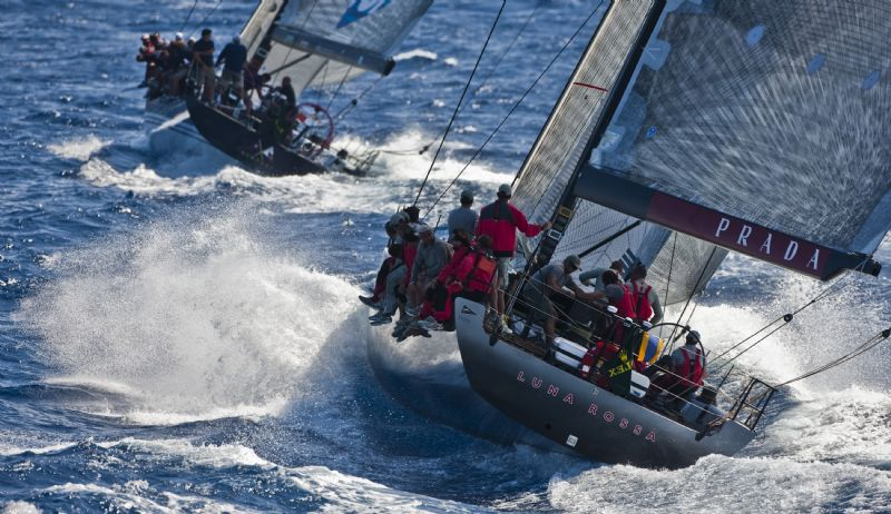 Luna Rossa and Bella Mente (Photo by Rolex / Carlo Borlenghi)