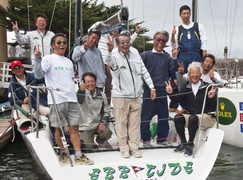 Masakazu Toyama and Crew (Photo by Rolex / Daniel Forster)