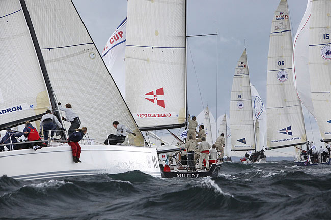 New York Yacht Club Invitational Cup (Photo by Dan Nerney)