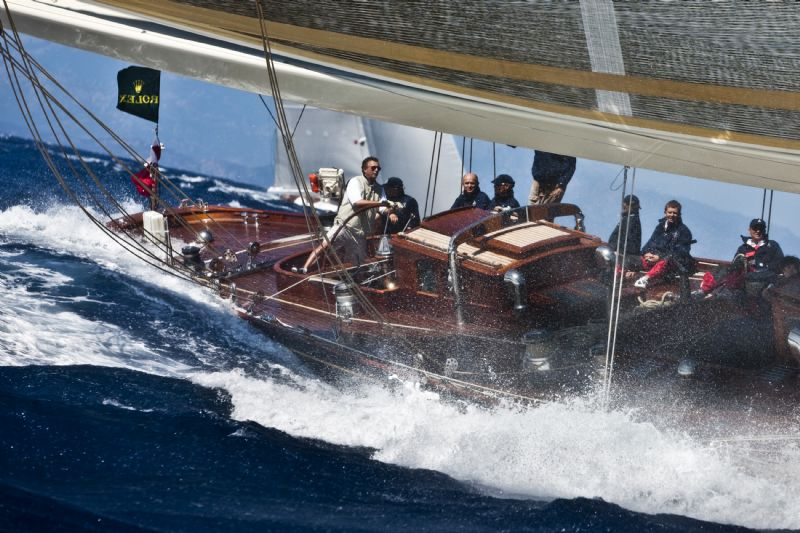 Velsheda Winner of Cruising Spirit of Tradition Class (Photo by Rolex / Carlo Borlenghi)