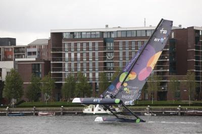 BT Extreme 40 In Amsterdam (Photo by Thierry Martinez /Sea & Co/BT Team Ellen)