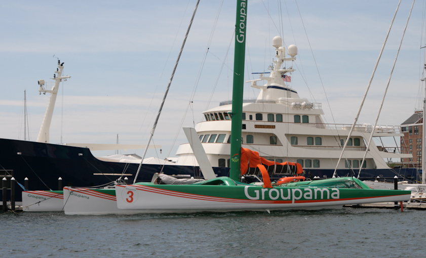 Groupama 3 (Photo by George Bekris)