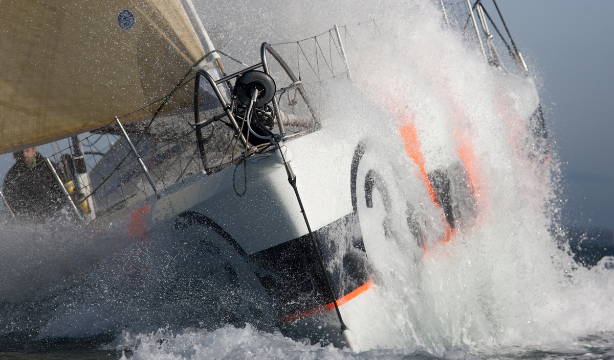 Mike Golding Yacht Racing (Photo by Mark Lloyd / Lloyd Images)