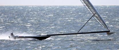 Vestas Sailrocket (Photo courtesy of sailrocket.com)