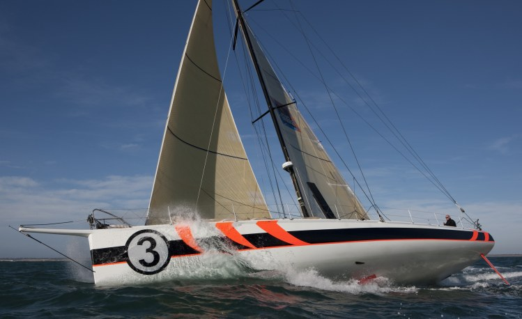 Mike Golding Yacht Racing (Photo by Lloyd Images)