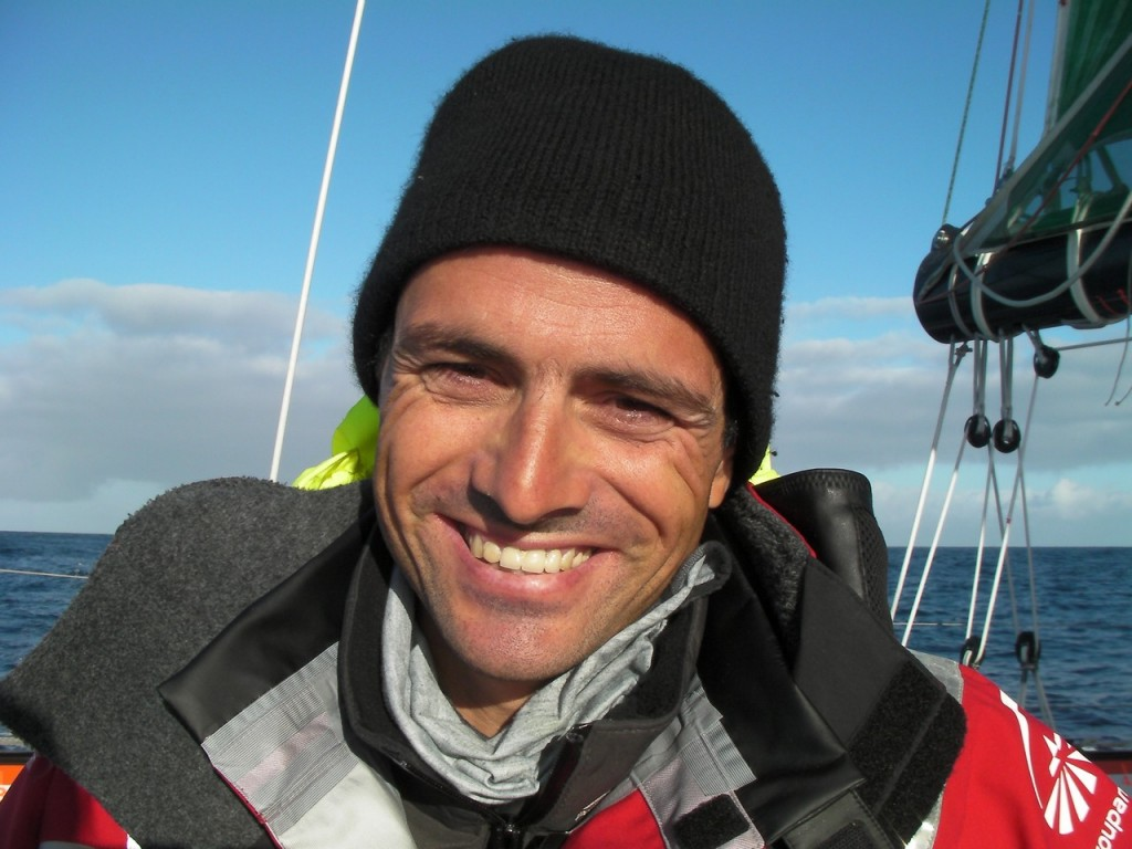 Franck Cammas (Photo by Team Groupama)