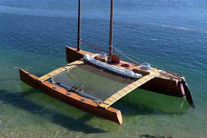 Free access Plywood outrigger canoe plans | Canoe sailing plan