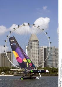 Extreme Sailing Series Asia 2009. Event 2 - Singapore 11/15 Dec