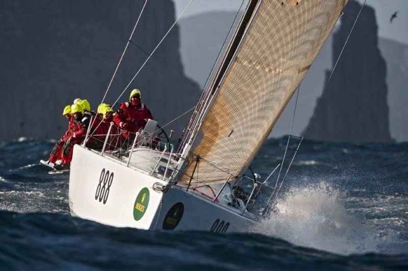 Evolution Racing, Skippered by Ray Roberts (Photo by Rolex/Kurt Arrigo)