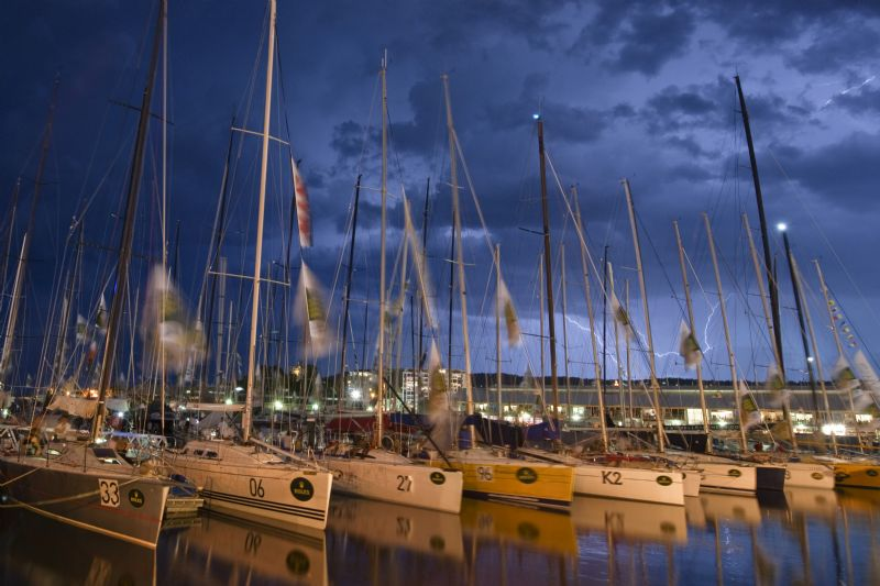 Dockside Ambience In Hobart (Photo by By Rolex/Kurt Arrigo)