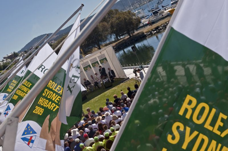 2009 Rolex Sydney Hobart Yacht Race Prizegiving Ceremony (Photo by Rolex/Kurt Arrigo)
