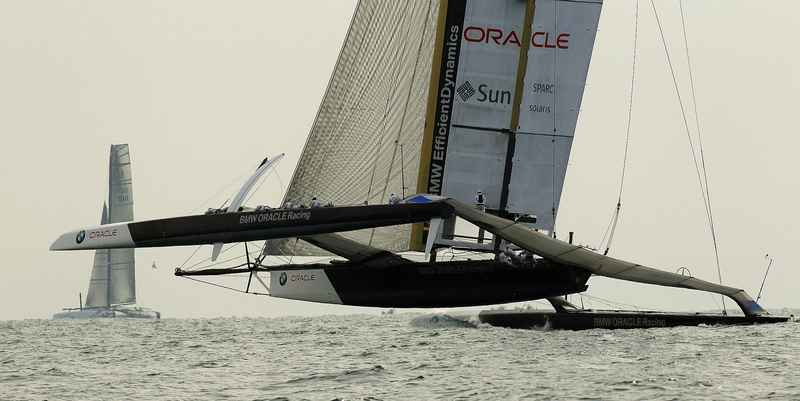 BMW Oracle America's Cup Winner February 14, 2010 (Photo by  Jose Jordan/America's Cup)