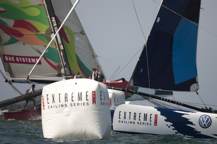 Extreme Sailing Series Asia (Photo by Mark Lloyd/Lloyd Images.OC Events)