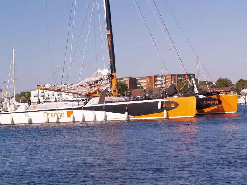 Orange II In Newport, RI (Photo by George Bekris)