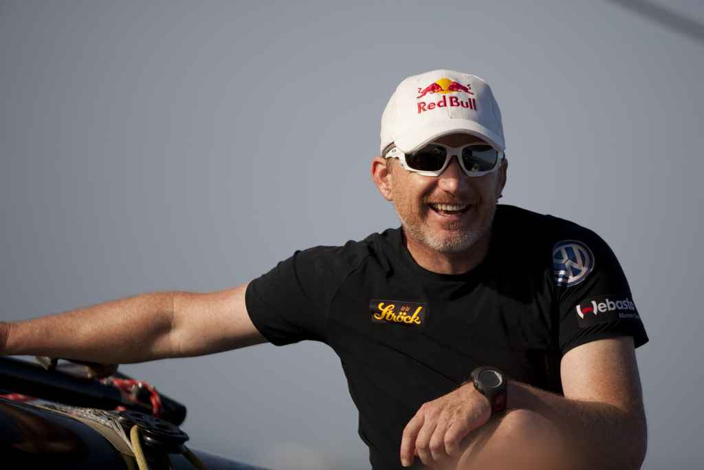 Roman Hagara, Skipper Of Red Bull Extreme Sailing, Leader After Day 1 (Photo by Mark Lloyd/Lloyd Images/OC Events)