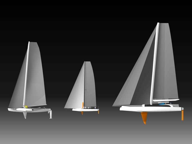 The Hydroptère Project Boats (Image courtesy of The Hydroptère Project)