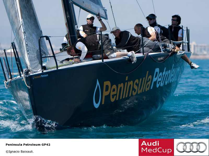 Peninsula Petroleum (Photo by Ignacio Baixuli / Audi MedCup)
