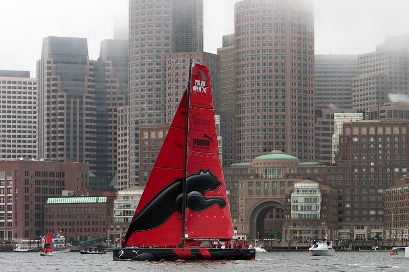 PUMA's IL Mostro In Boston Harbor (Photo by George Bekris)
