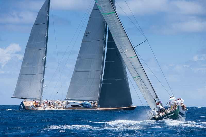 Sojana and Moneypenny (Photo by Christophe Jouany  / Les Voiles de Saint-Barth)
