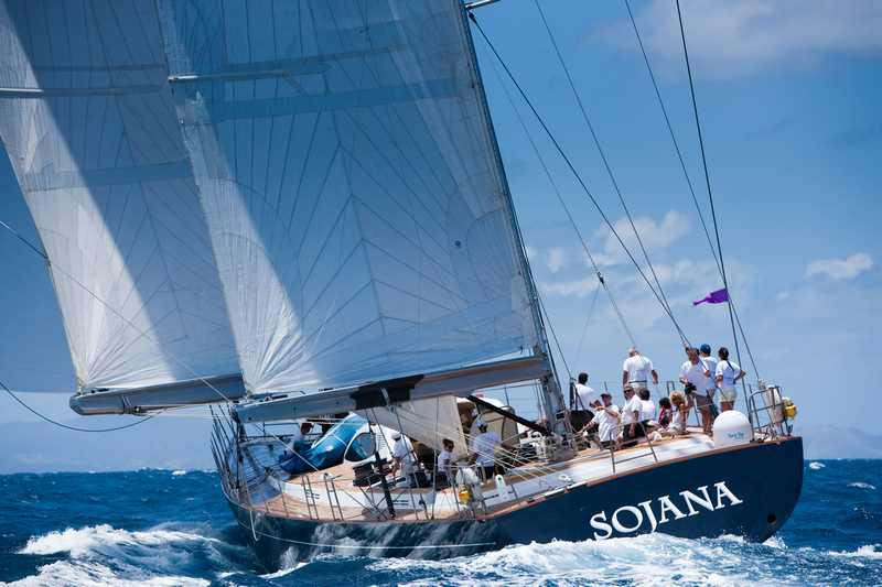Sojana (Photo by Christophe Jouany  / Les Voiles de Saint-Barth)